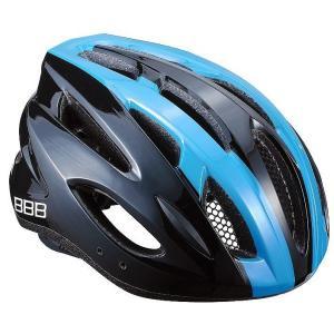 BBB ヘルメット コンドル L ブラック/ブルー BHE-35|trycycle