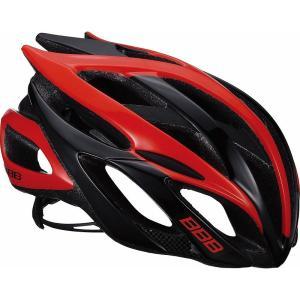 送料無料 BBB ヘルメット ファルコン V2 L ブラック/レッド BHE-01|trycycle