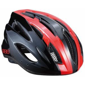BBB ヘルメット コンドル L ブラック/レッド BHE-35|trycycle