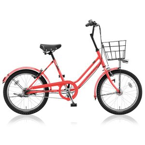 ブリヂストングリーンレーベル ミニベロ VEGAS VGS03T E.Xフラミンゴオレンジ|trycycle