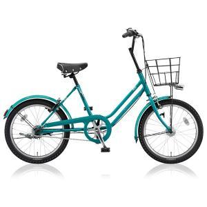 ブリヂストングリーンレーベル ミニベロ VEGAS VGS03T E.Xコバルトグリーン|trycycle