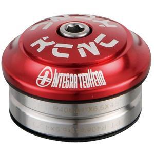 KCNC ヘッドセット オメガS1 1-1/8 インテグラル レッド|trycycle