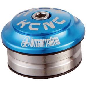 KCNC ヘッドセット オメガS1 1-1/8 インテグラル ブルー|trycycle