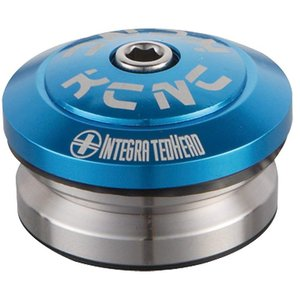 KCNC ヘッドセット オメガS2 1-1/8 インテグラル ブルー|trycycle