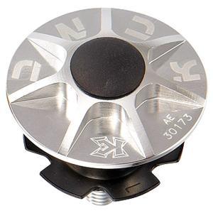 KCNC ヘッドセットパーツ SLアヘッドキャップセット 1-1/8 シルバー|trycycle