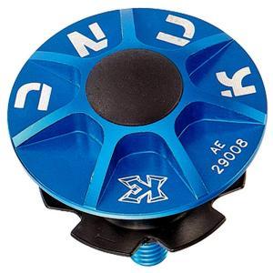 KCNC ヘッドセットパーツ SLアヘッドキャップセット 1-1/8 ブルー|trycycle