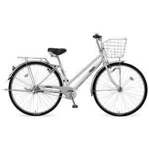 【防犯登録サービス中】丸石(マルイシ) 自転車 フォーメーション シティ FMSP273B S80M シルバー系メタリック|trycycle