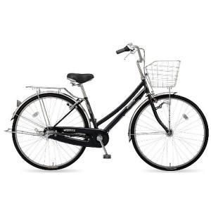 【防犯登録サービス中】丸石(マルイシ) 自転車 フォーメーション Wループ FMWP273B K1E 黒系エナメル|trycycle