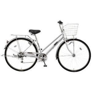 【防犯登録サービス中】丸石(マルイシ) 自転車 フォーメーション シティ6段 FMSP276B S80M シルバー系メタリック|trycycle