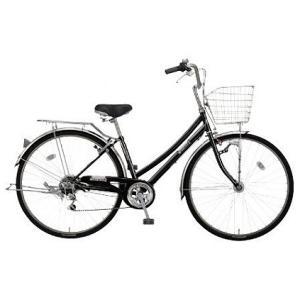 【防犯登録サービス中】丸石(マルイシ) 自転車 フォーメーション Wループ6段 FMWP276B K1E 黒系エナメル|trycycle