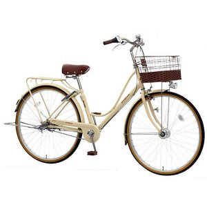 【防犯登録サービス中】丸石(マルイシ) 自転車 プルミエール PEP263B W50P アイボリー|trycycle