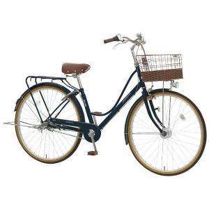 【防犯登録サービス中】丸石(マルイシ) 自転車 プルミエール PEP263B BL21M インクブルー|trycycle