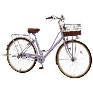 【防犯登録サービス中】丸石(マルイシ) 自転車 プルミエール PEP263B M97P ペールパープル|trycycle
