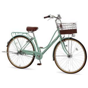 【防犯登録サービス中】丸石(マルイシ) 自転車 プルミエール PEP273B H46E グレイッシュミント|trycycle