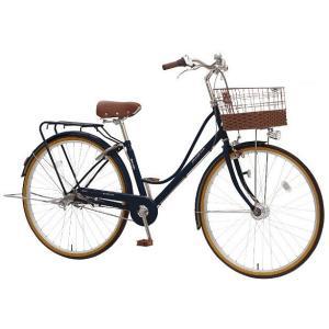 【防犯登録サービス中】丸石(マルイシ) 自転車 プルミエール PEP273B BL21M インクブルー|trycycle