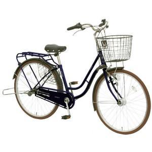 【防犯登録サービス中】丸石(マルイシ) 自転車 ノエア NAP263B A51T マットネイビー|trycycle