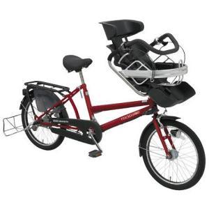 【防犯登録サービス中】丸石(マルイシ) 自転車 ふらっか~ずアクティブ FRPP203W RD02E ブラウニーレッド|trycycle
