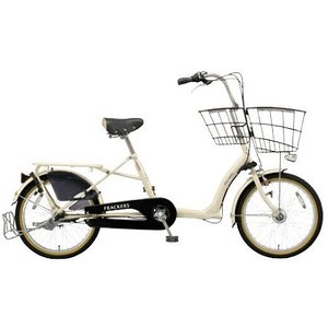 【防犯登録サービス中】丸石(マルイシ) 自転車 ふらっか~ずキュートミニ FRQM203B W64P オフホワイト|trycycle