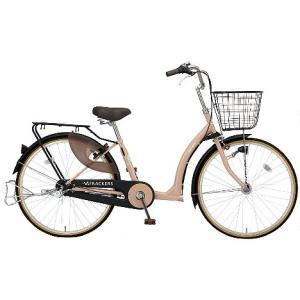 【防犯登録サービス中】丸石(マルイシ) 自転車 ふらっか~ずキュート FRQ263W C88E アーモンドブラウン|trycycle
