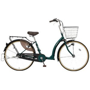 【防犯登録サービス中】丸石(マルイシ) 自転車 ふらっか~ずキュート FRQ263W H55T マットダークブルーグリーン|trycycle
