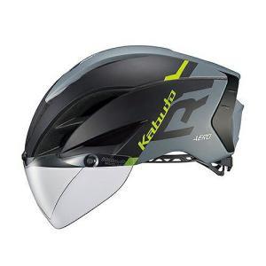送料無料 OGK KABUTO(オージーケーカブト) ヘルメット エアロ-R1 G1マットブラックグレー L/XL|trycycle