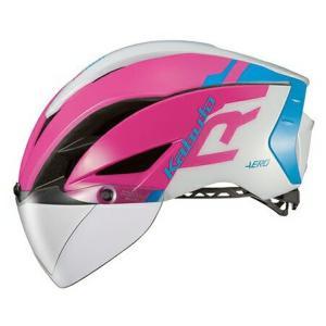 送料無料 OGK KABUTO(オージーケーカブト) ヘルメット エアロ-R1 G1ピンクブルー S/M|trycycle