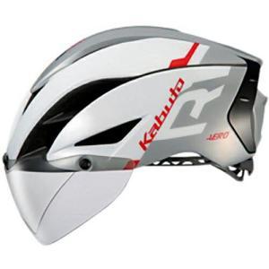 送料無料 OGK KABUTO(オージーケーカブト) ヘルメット エアロ-R1 G1ホワイトライトグレー XS/S|trycycle