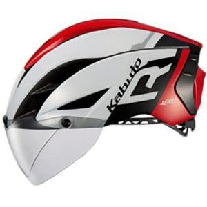 送料無料 OGK KABUTO(オージーケーカブト) ヘルメット エアロ-R1 G1ホワイトレッド XS/S|trycycle
