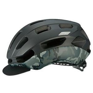 送料無料 OGK KABUTO(オージーケーカブト) ヘルメット BC-GLOSBE2 マットブラックカモ S/M|trycycle