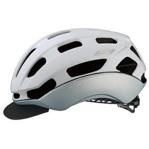 送料無料 OGK KABUTO(オージーケーカブト) ヘルメット BC-GLOSBE2 マットホワイトヘアライン L/XL|trycycle