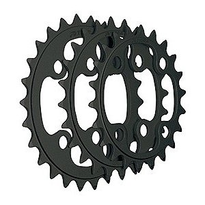TIOGA(タイオガ) チェーンリング (4アーム用/PCD 64mm) 24T BLK|trycycle
