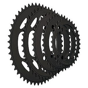 TIOGA(タイオガ) チェーンリング (4アーム用/PCD 104mm) 48T BLK|trycycle