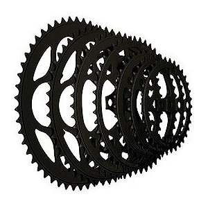 TIOGA(タイオガ) チェーンリング (5アーム用/PCD 110mm) 38T BLK|trycycle