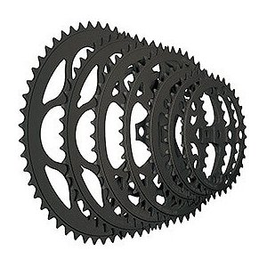 TIOGA(タイオガ) チェーンリング (5アーム用/PCD 110mm) 46T BLK|trycycle