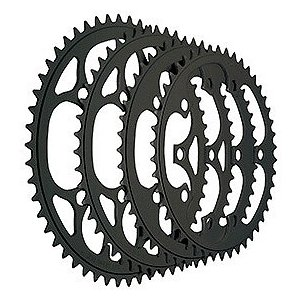TIOGA(タイオガ) チェーンリング (5アーム用/PCD 130mm) 48T BLK|trycycle