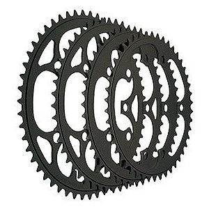 TIOGA(タイオガ) チェーンリング (5アーム用/PCD 130mm) 52T BLK|trycycle