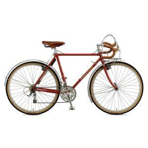 送料無料 ARAYA(アラヤ) ツーリング SWALLOW Randonneur (RAN) メープルレッド 【北海道、九州、沖縄、離島は送料別】|trycycle
