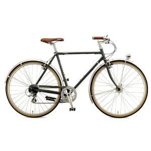 送料無料 ARAYA(アラヤ) クロスバイク SWALLOW Promenade Gents (PRM) スチールグレー 【北海道、九州、沖縄、離島は送料別】|trycycle