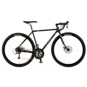 送料無料 ARAYA(アラヤ) クロスバイク MuddyFox CX Gravel (CXG) バーンブラック 【北海道、九州、沖縄、離島は送料別】|trycycle