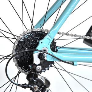 送料無料 BIANCHI(ビアンキ) クロスバイク SPORT ROMA4 ALTUS 50 CELESTE trycycle 11