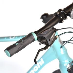 送料無料 BIANCHI(ビアンキ) クロスバイク SPORT ROMA4 ALTUS 50 CELESTE trycycle 05
