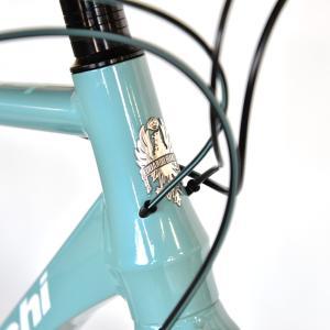 送料無料 BIANCHI(ビアンキ) クロスバイク SPORT ROMA4 ALTUS 50 CELESTE trycycle 06