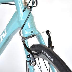 送料無料 BIANCHI(ビアンキ) クロスバイク SPORT ROMA4 ALTUS 50 CELESTE trycycle 08