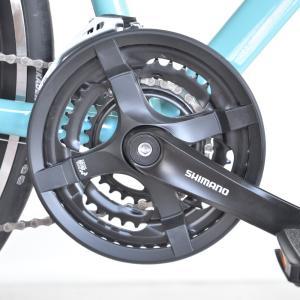 送料無料 BIANCHI(ビアンキ) クロスバイク SPORT ROMA4 ALTUS 50 CELESTE trycycle 10