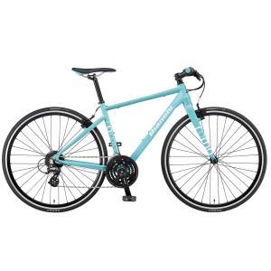 送料無料 BIANCHI(ビアンキ) クロスバイク SPORT ROMA4 ALTUS 54 CELESTE|trycycle