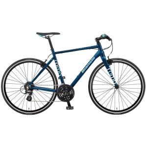 送料無料 BIANCHI(ビアンキ) クロスバイク SPORT ROMA4 ALTUS 54 NAVY BLUE|trycycle