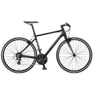 送料無料 BIANCHI(ビアンキ) クロスバイク SPORT ROMA4 ALTUS 54 MATT BLACK/CELESTE|trycycle