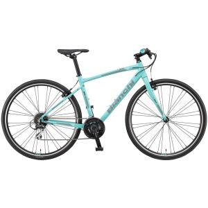 送料無料 BIANCHI(ビアンキ) クロスバイク C・SPORT Matt CK-Black/White 55|trycycle