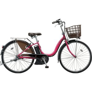 ブリヂストン 電動自転車 アシスタ デラックス A4DC39 E.Xディープピンク|trycycle