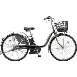 ブリヂストン 電動自転車 アシスタ デラックス A4DC39 M.XHスパークルシルバー|trycycle